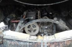 В Арбеково задымился автобус с пассажирами внутри