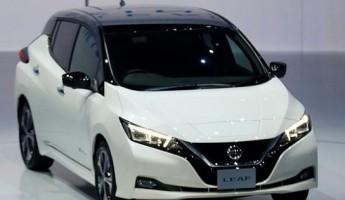 «Nissan» представил новый «умный» электрокар «Leaf»