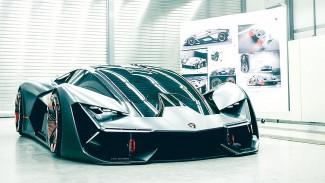 Самовосстанавливающийся кузов. «Lamborghini» показала, какими будут автомобили через десятилетия