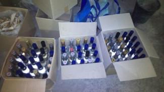 Под Пензой у мужчины нашли почти две тысячи литров опасного алкоголя
