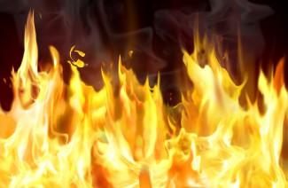 Страшный пожар в Наровчатском районе унес жизнь пенсионера