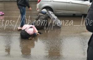 В Пензе на Суворова на полной скорости сбили ребенка