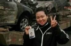 Журналистка позировала на фоне места ДТП, где погибли 18 человек