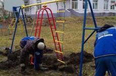 В детском саду избирательного округа №1 обустроена игровая территория
