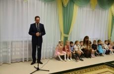 Мэр Пензы Кувайцев открыл новый детсад в Арбекове