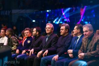 Иван Белозерцев посетил турнир «Fight Nights Global 79»