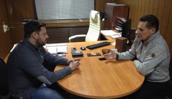 Виктор Кувайцев провел рабочую встречу с Алексеем Никулиным