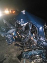 Автокатастрофа в Нижнеломовском районе. Погибли четыре человека, в том числе и ребенок