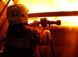 12 спасателей тушили серьезный пожар на Ударной в Пензе