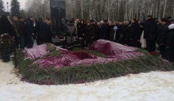 Вячеслава Сатина похоронили рядом с могилой Василия Бочкарева