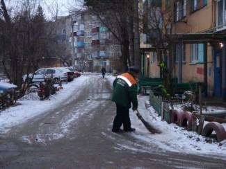 Улицы Пензы очистили от снега