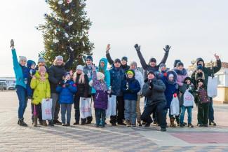 В Спутнике состоялся спортивный праздник «Зимние забавы»