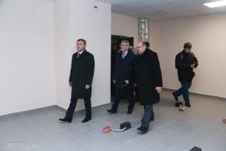 Володин оценил ход капремонта станции Скорой помощи в Пензе