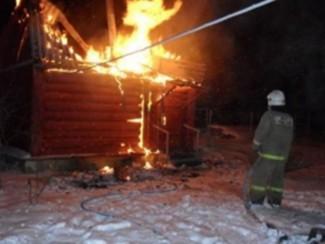 Шесть спасателей тушили серьезный пожар в Пензенской области