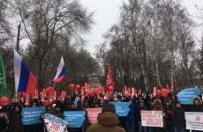 В Пензе прошла забастовка избирателей