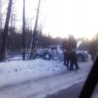 В Пензе столкнулись рейсовый автобус и легковушка