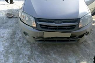 В результате аварии с участием иномарки в Кузнецке пострадал мужчина