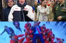 Вип-выходные: Кувайцев встает на лыжи, Трошин и Фирюлин болеют за наших, Кузнецова встречается с Шойгу