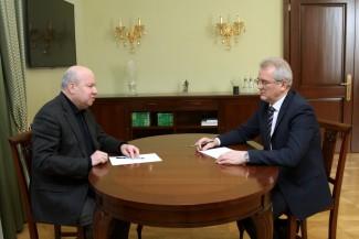 Член ЦИК Лихачев поблагодарил Белозерцева за помощь в организации выборов президента