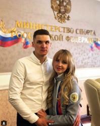 Никольчанин сделал предложение руки и сердца олимпийскому призеру Анне Нечаевской