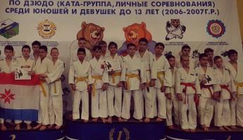 Пензенские дзюдоисты завоевали «бронзу» в общем зачете на Первенстве ПФО