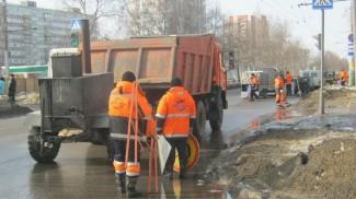 В Пензе стартовал гарантийный ремонт дорог