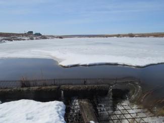 «Сурский гидроузел» работает в режиме срезки пика паводка