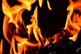 Бригада спасателей тушила серьезный пожар в Земетчинском районе