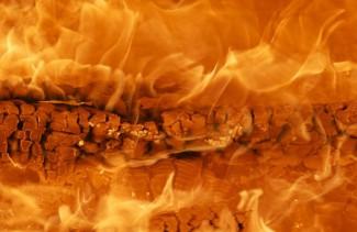 В Пензе на Карпинского мужчина заживо сгорел в своем автомобиле