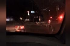 В Терновке на Сухумской на полной скорости сбили мотоциклиста