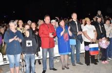Мэр Кувайцев завершил День Победы вместе с горожанами