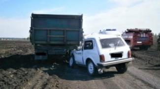 Смертельное ДТП в Башмаково. Водитель «Нивы» не уцелел в столкновении с фурой