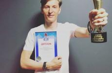 Пензенец Павел Воля похвалился наградой за свой спортивный проект
