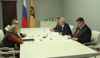 Белозерцев договорился о гастролях в Пензе прародителя всех российских театров