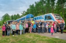 Международный день защиты детей отметили в Железнодорожном районе Пензы