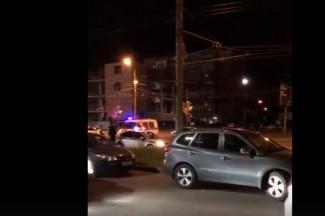 Появилось видео с места смертельной аварии у «Товаров для женщин» в Пензе