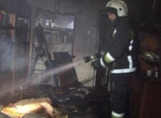 Четырнадцать спасателей тушили страшный пожар в Терновке