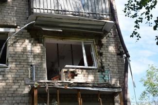 Сказано-сделано. В доме на Крупской, где произошел взрыв, укрепили строительные конструкции