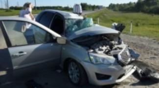 Авария под Пензой. «Лоб в лоб» столкнулись автобус и иномарка