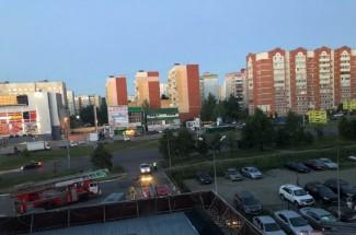 Соцсети: В пензенской многоэтажке в Арбеково произошел серьезный пожар
