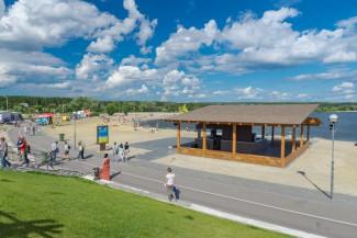 Пляж Города Спутника признан полностью оборудованным к летнему отдыху