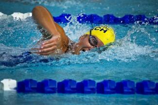 Жительница Пензы Елена Данилова выиграла чемпионат России по триатлону