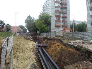 В дома на улице Кижеватова поступила горячая вода