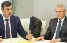 Новый куратор «Горводоканала» рассказал Белозерцеву о планах