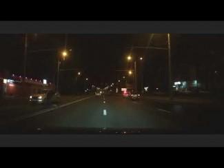 Опубликовано видео с погибшим в Терновке пешеходом