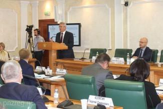 Белозерцев продвигает ТОСы в Совете Федерации РФ
