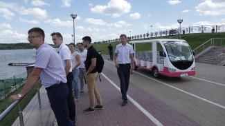 Город Спутник посетила делегация компании - застройщика Ульяновской области