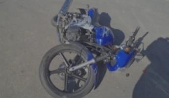 Под Пензой разбился мотоциклист