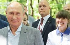 Жительница Пензы сфотографировалась и пообщалась с Владимиром Путиным