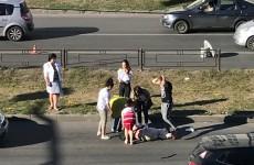 ДТП у «Онежского». В Арбеково пешехода сбили на глазах у прохожих